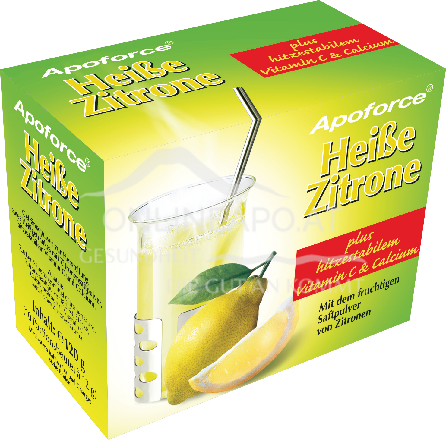 Apoforce® Heiße Zitrone