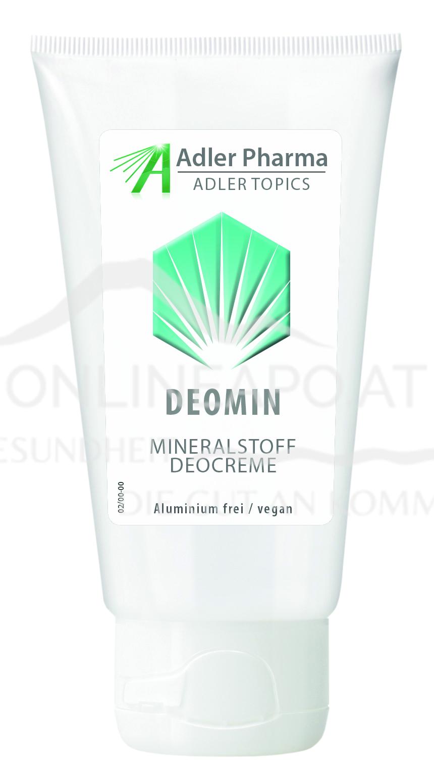 Deomin – Milde Mineralstoff Deocreme