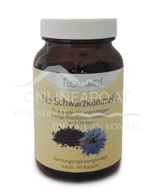 Floramed Bio-Schwarzkümmelöl Kapseln DE-ÖKO-003