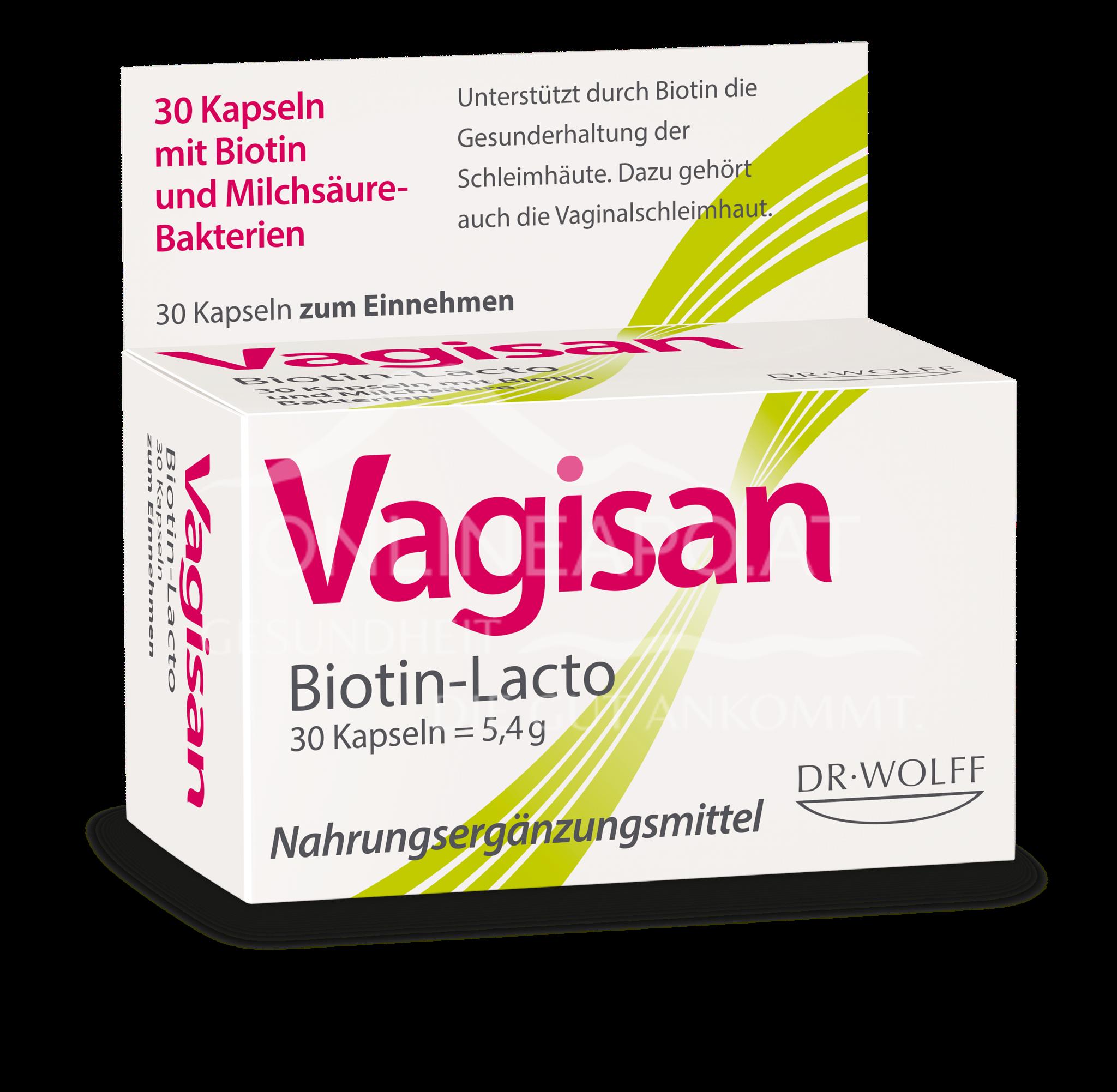Vagisan® Biotin-Lacto Kapseln