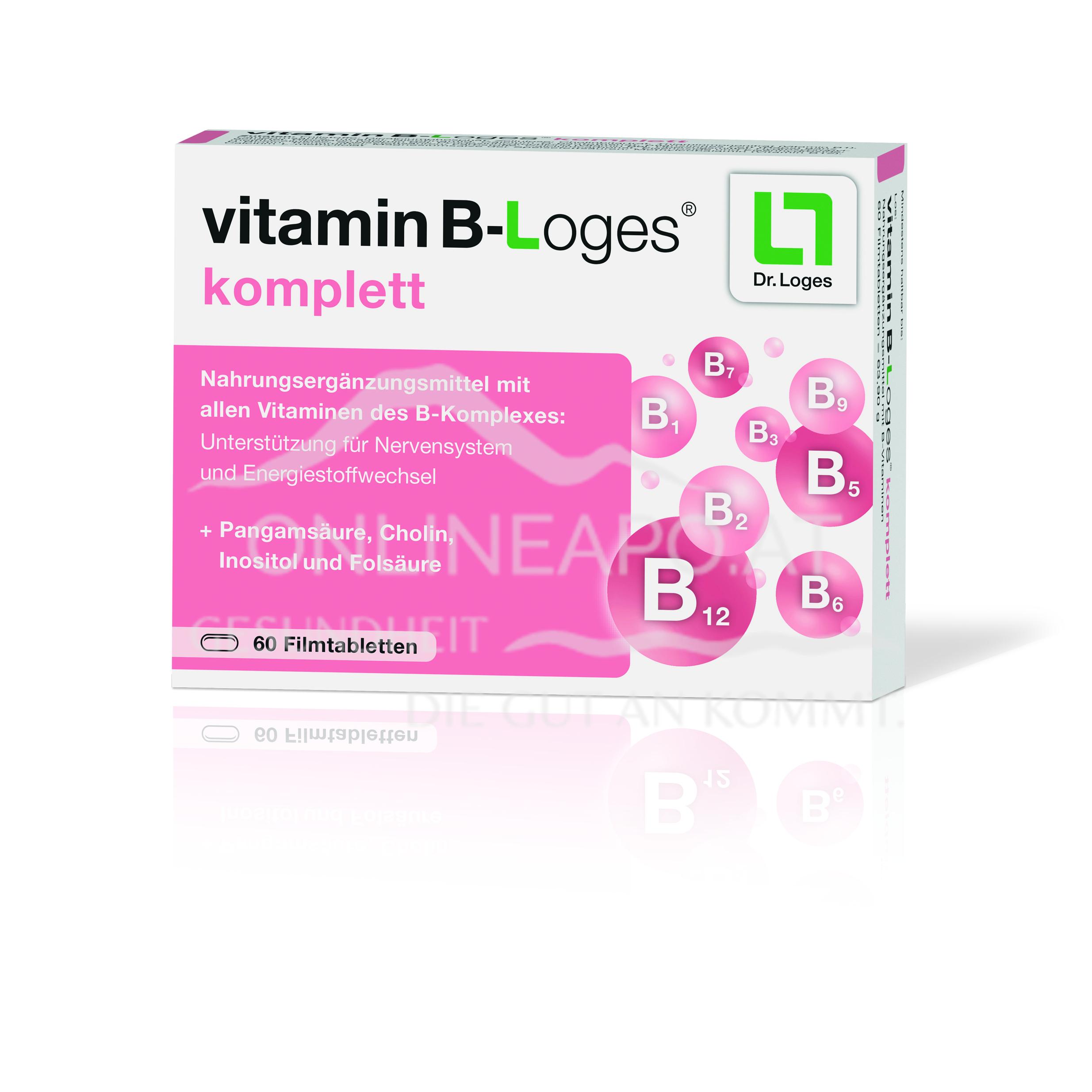vitamin B-Loges® komplett Filmtabletten