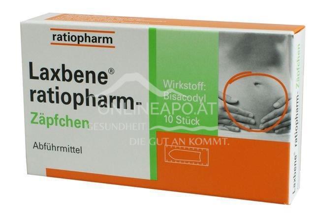 Laxbene®Zäpfchen