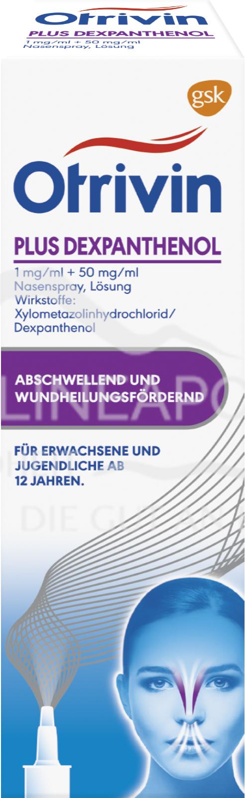 Otrivin® plus Dexpanthenol