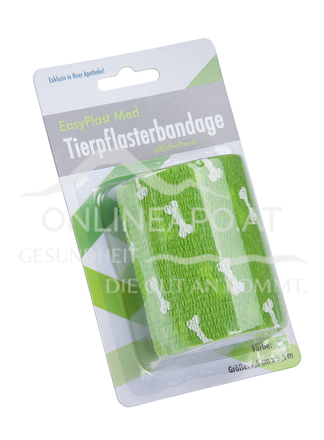 Easy Plast Med Selbsthaftendes Tierpflaster 7,5 cm x 5,5 m