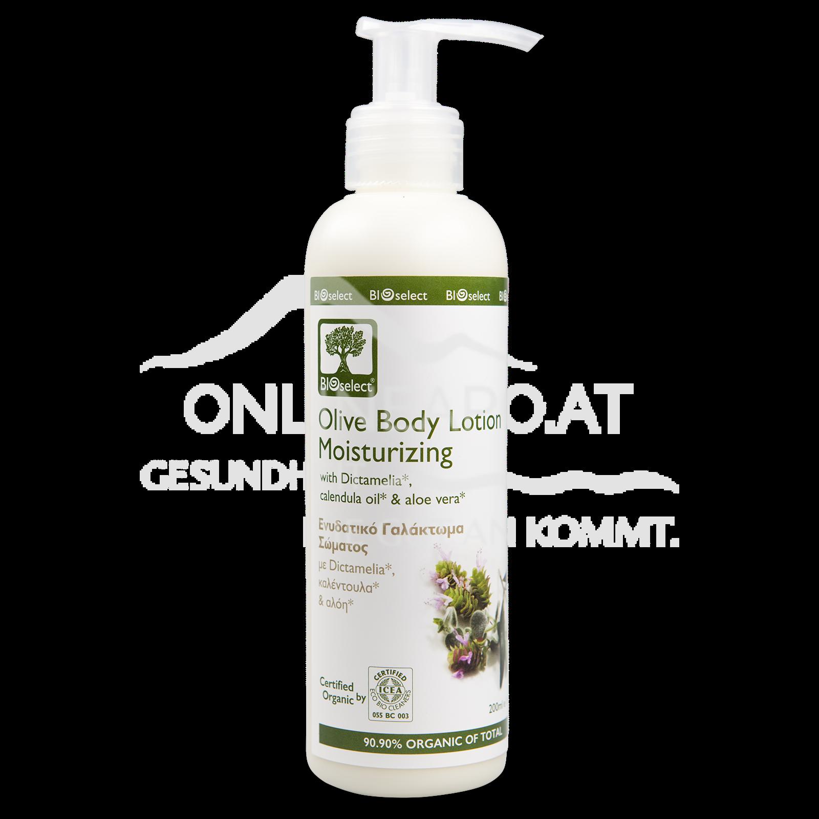 Bioselect Olive Body Lotion Moisturizing