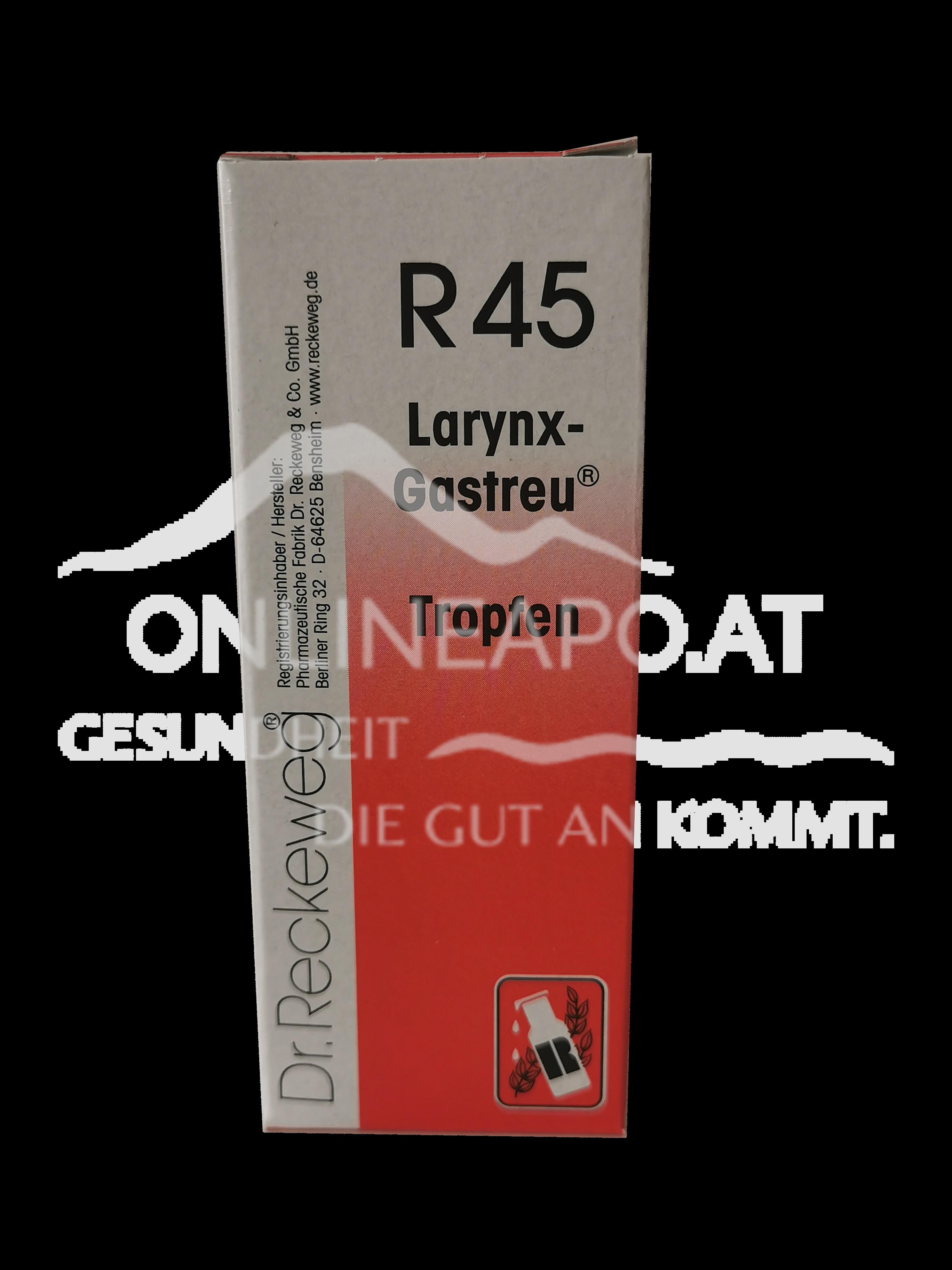 Dr. Reckeweg® Larynx-Gastreu® R45