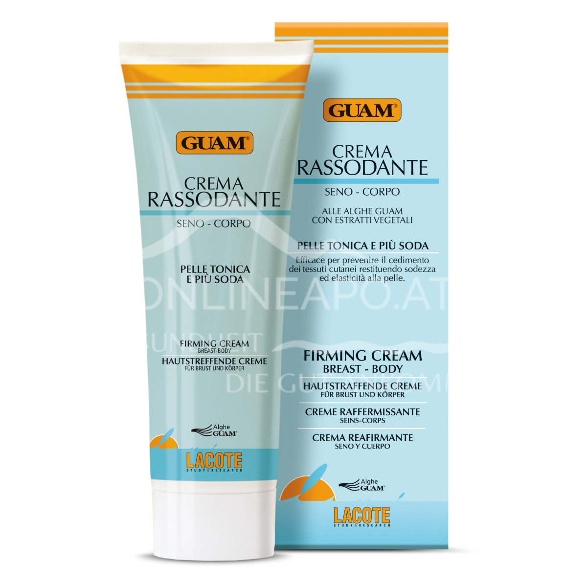Guam Hautstraffende Creme für Brust & Körper 250ml