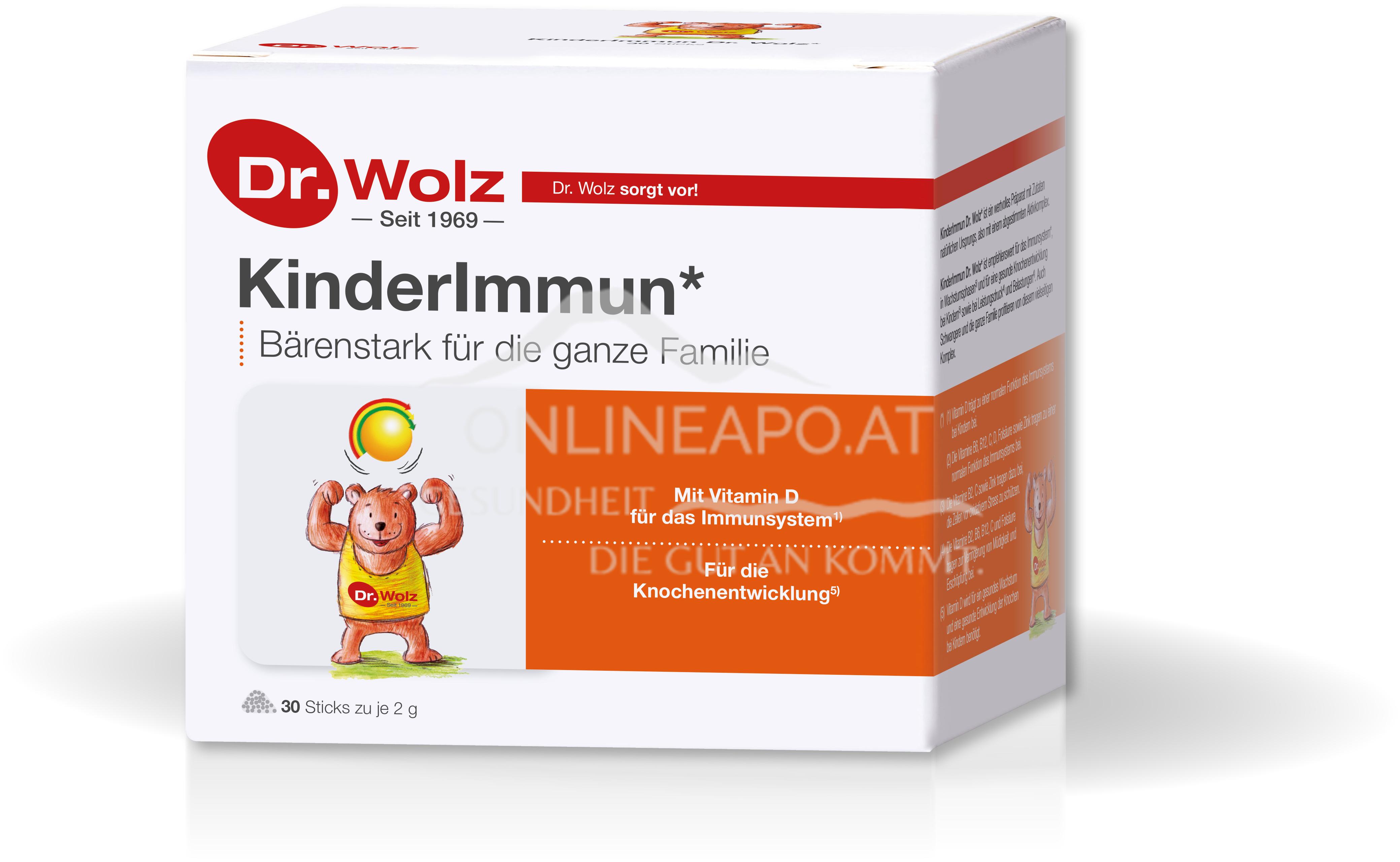 Dr. Wolz KinderImmun Sticks