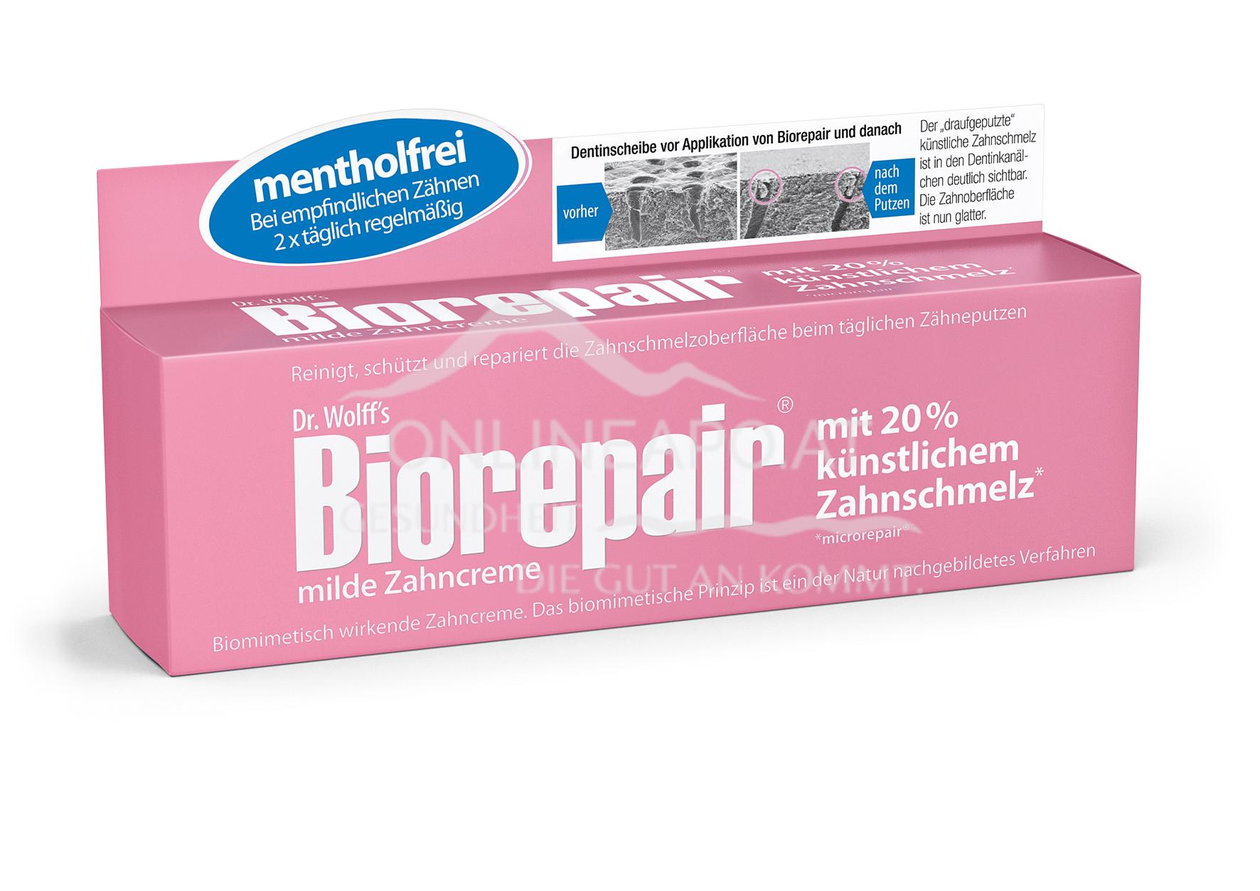 Biorepair® Zahncreme mild