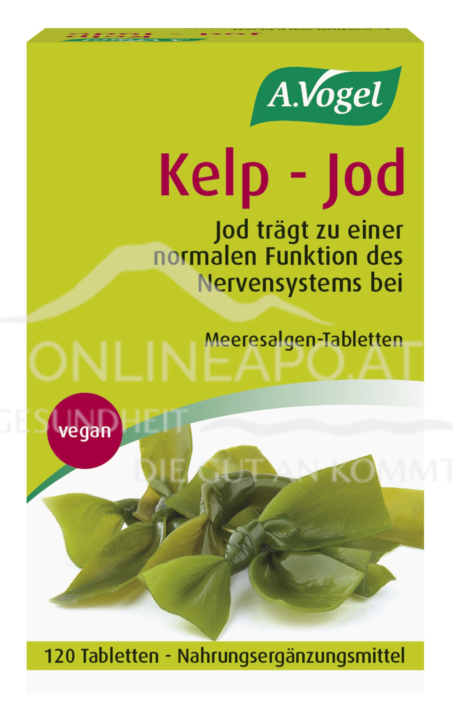 A.Vogel Kelp-Jod Meeresalgen Tabletten