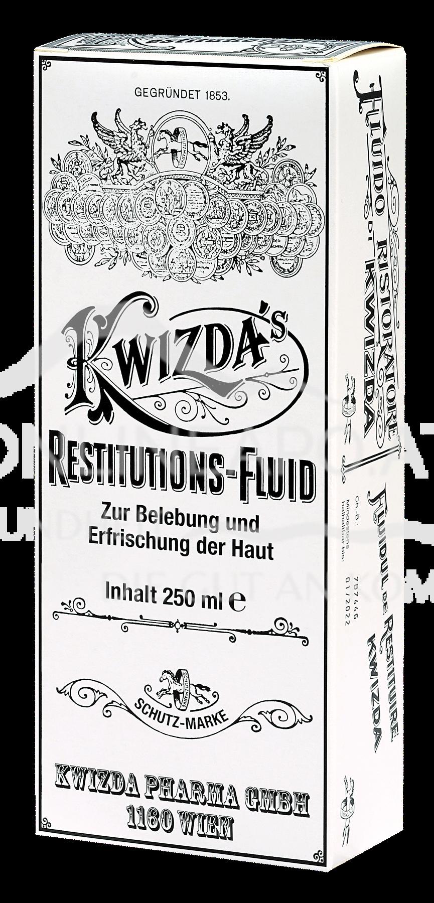 Kwizda's Restitutionsfluid