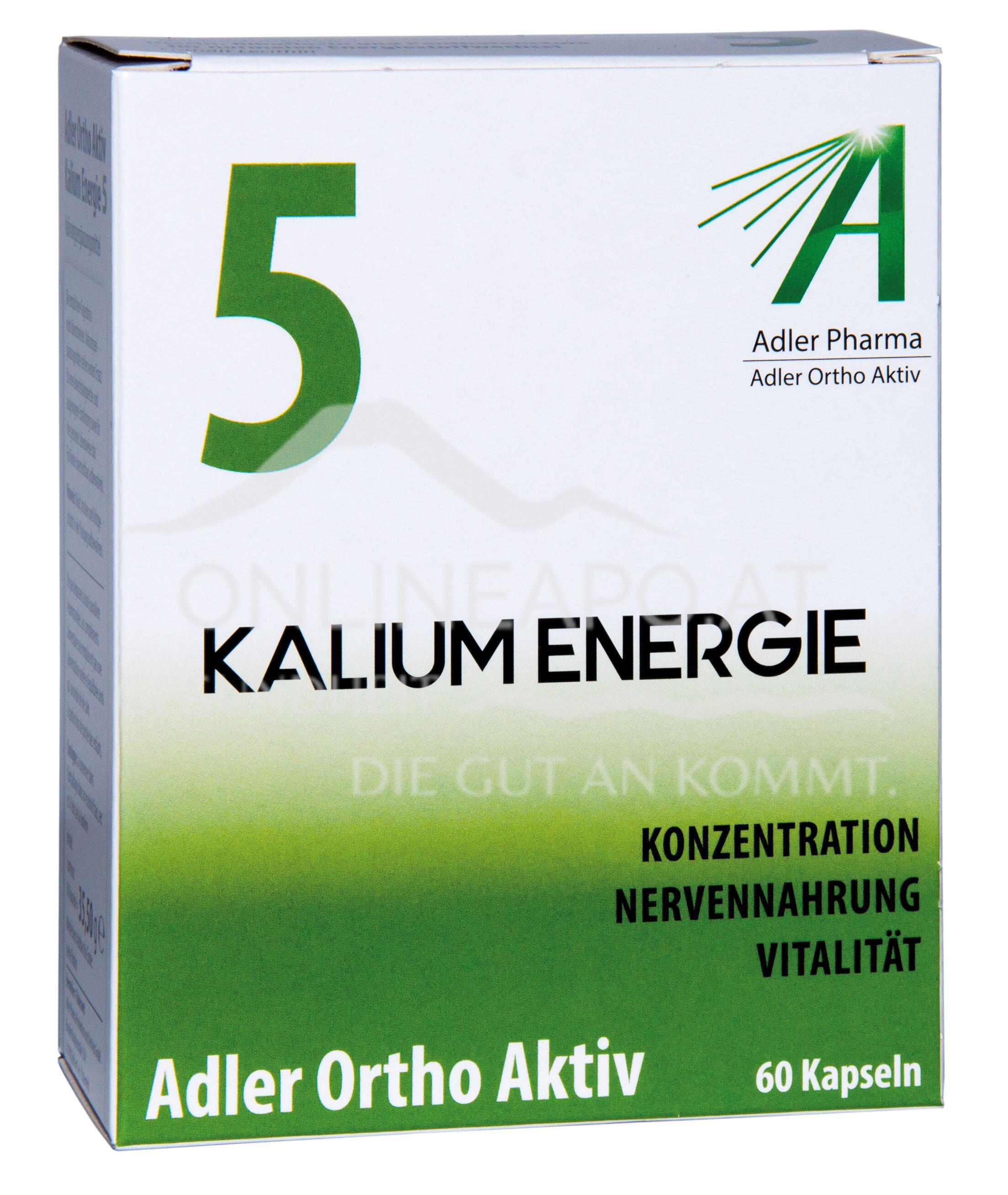 Adler Ortho Aktiv Nr. 5 Kalium Energie