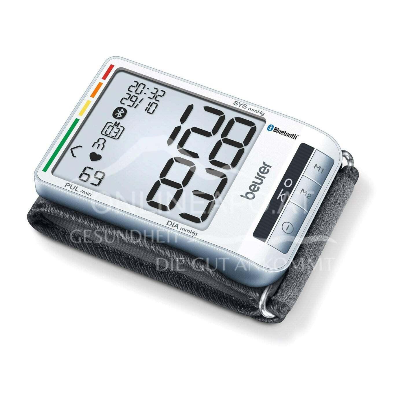 BEU BC 85 Handgelenk-Blutdruckmessgerät Bluetooth®
