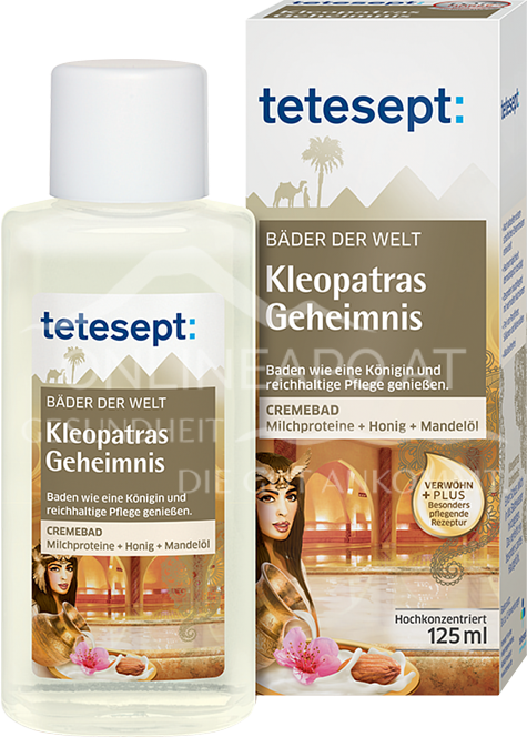 tetesept Bäder der Welt Kleopatras Geheimnis