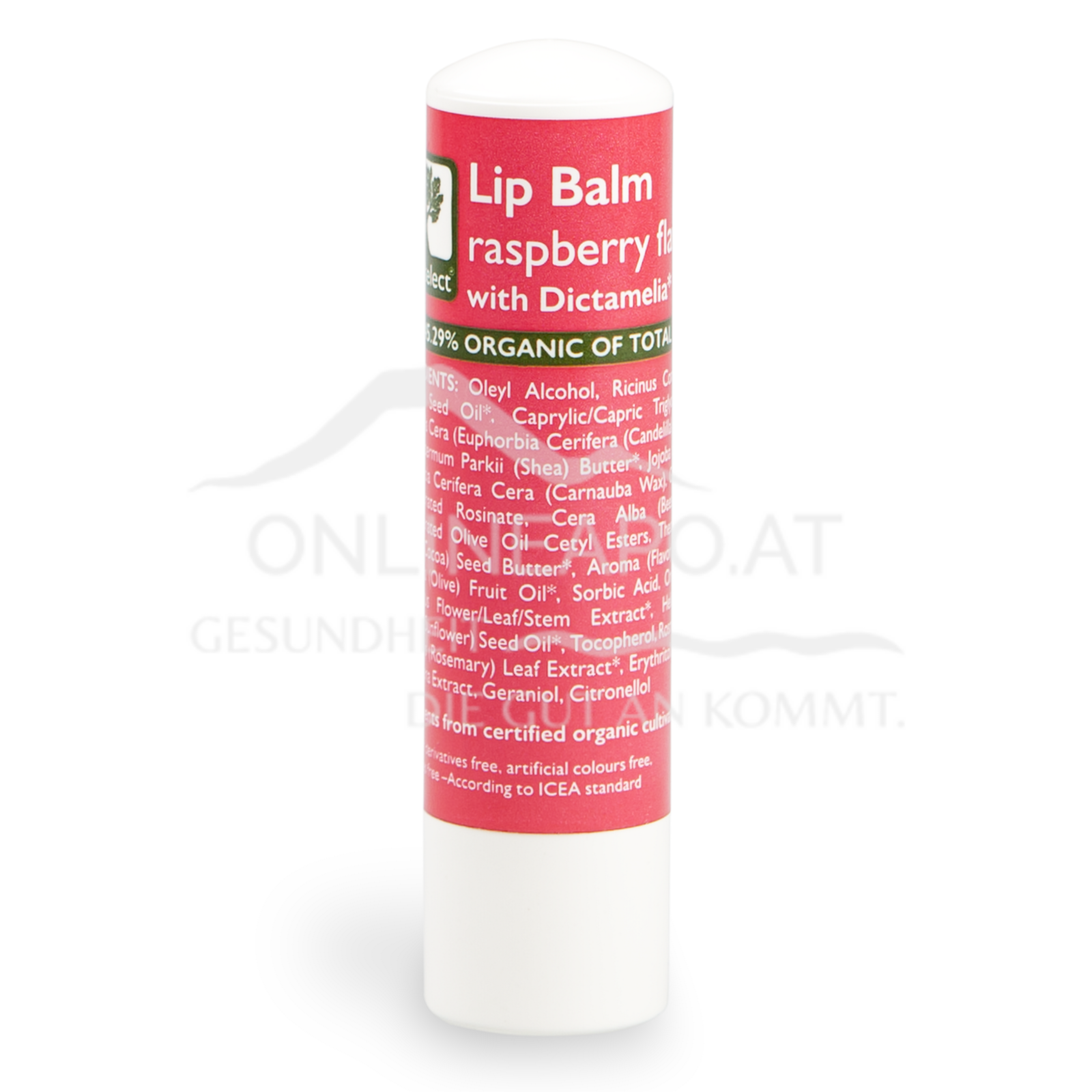 Bioselect Lip Balm raspberry flavor