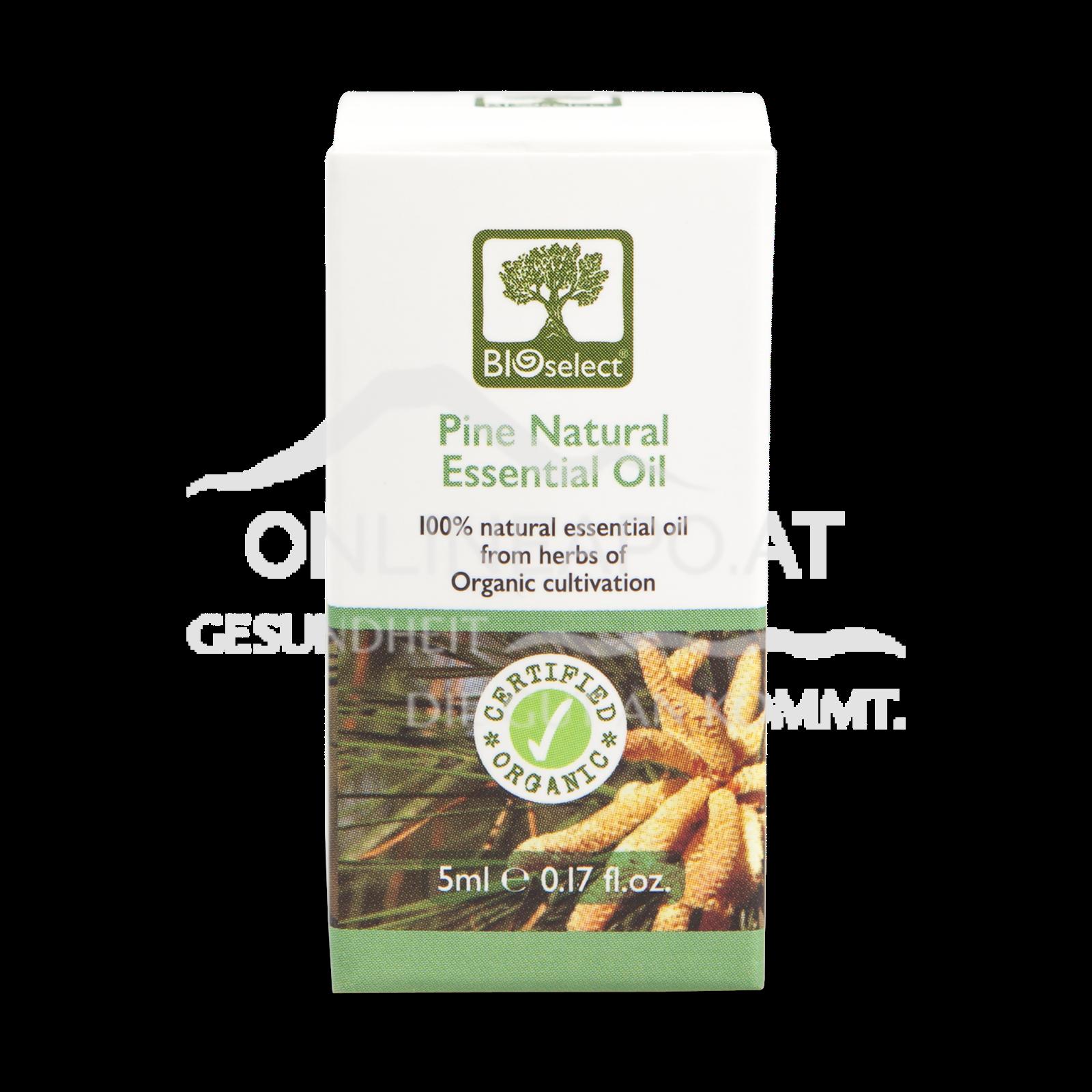 Bioselect Pine Natural Essential Oil Certified Organic