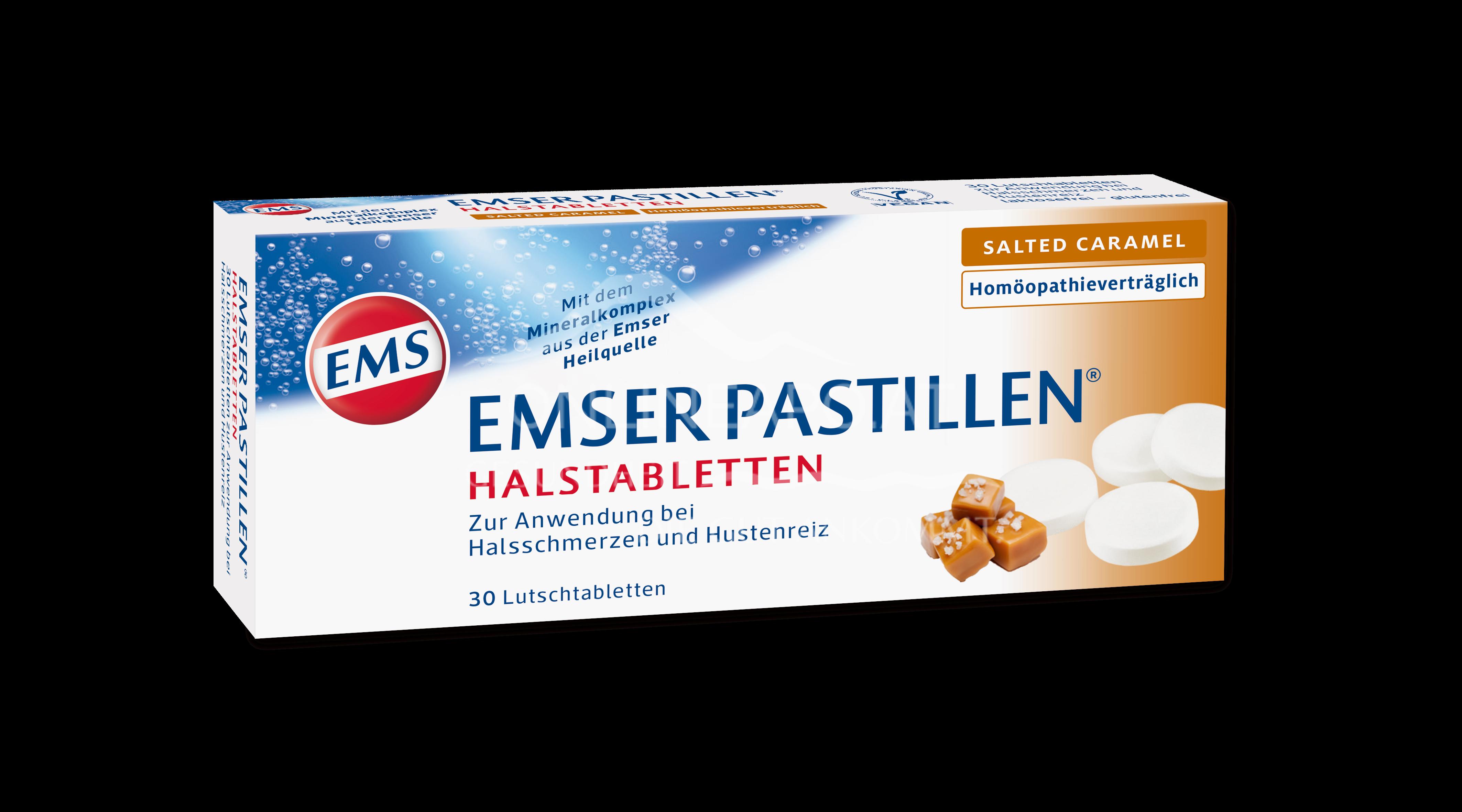 Emser Pastillen® Halstabletten Salted Caramel