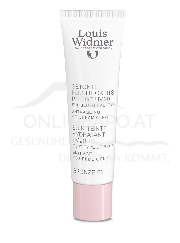 Louis Widmer Getönte Feuchtigkeitspflege UV 20 Bronze 02