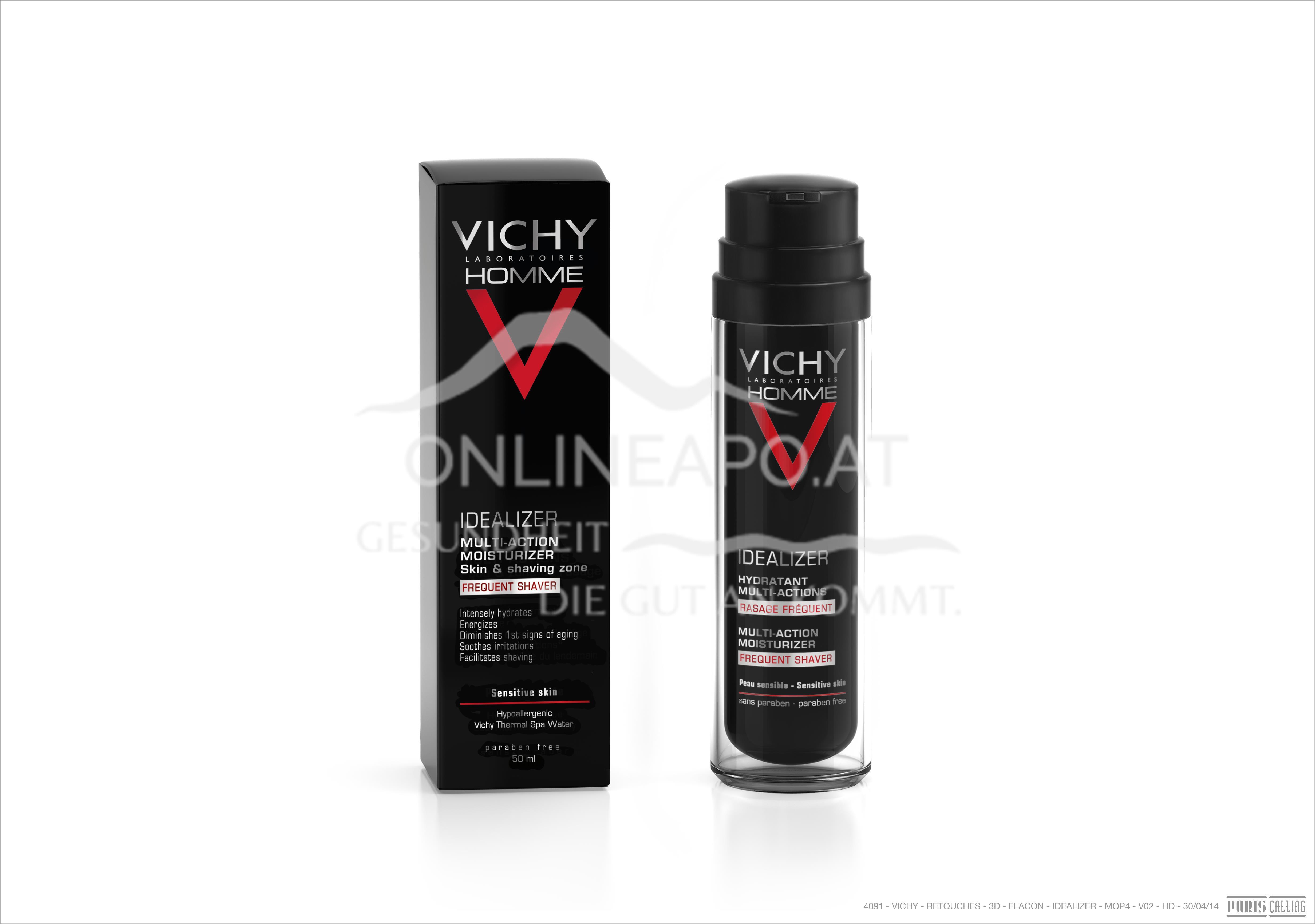 Vichy Homme Idealizer für glatte Haut