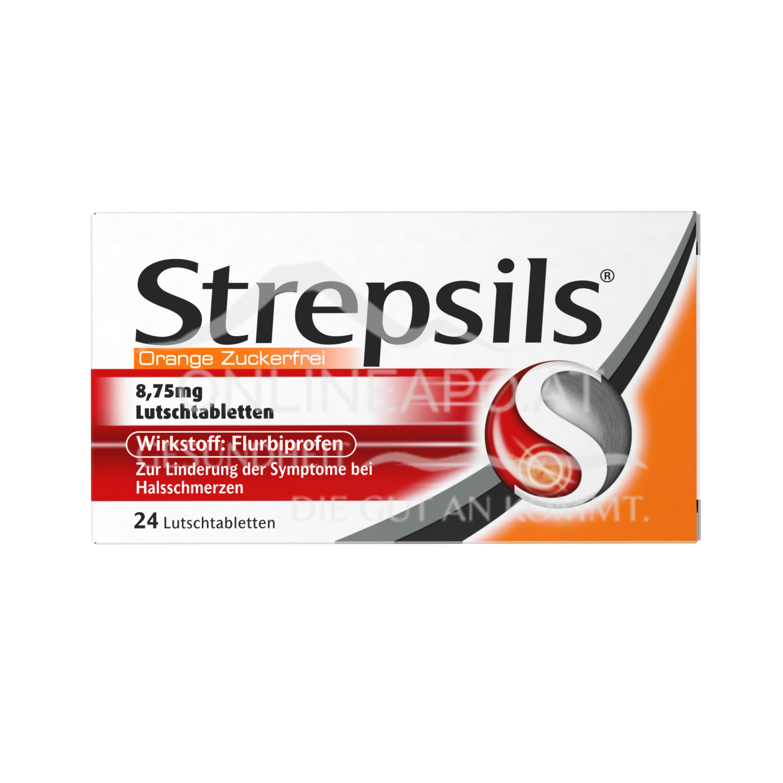 Strepsils® Lutschtabletten Orange Zuckerfrei