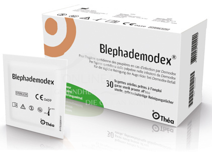 Blephademodex® Pflegetücher