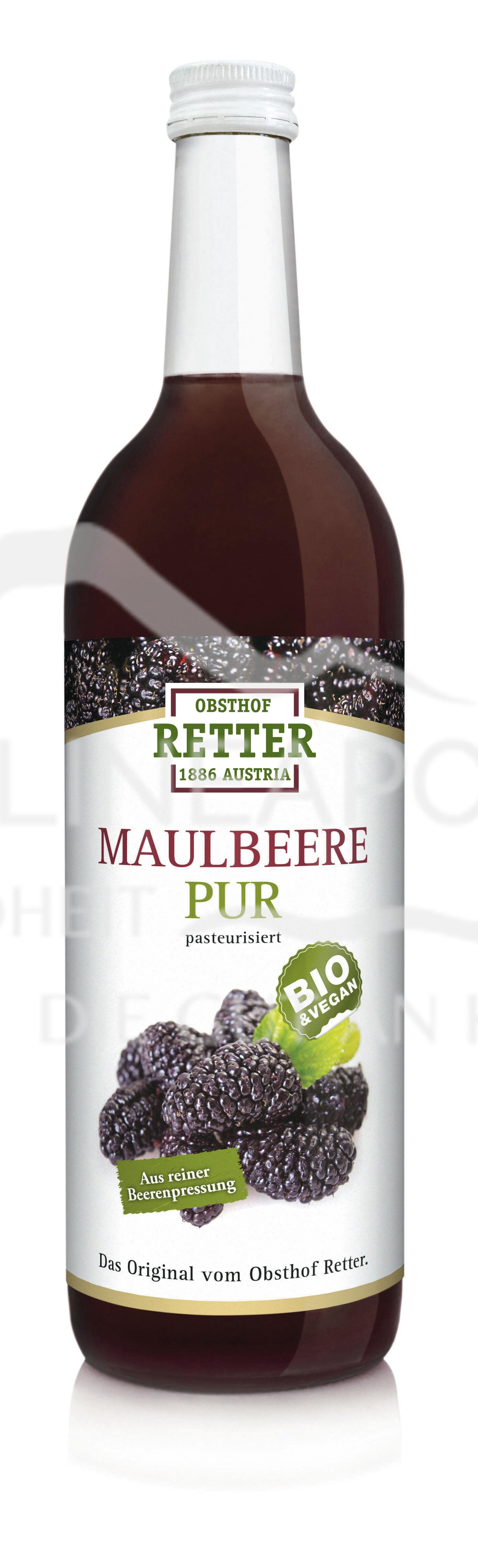 Obsthof Retter BIO Maulbeere Direktsaft