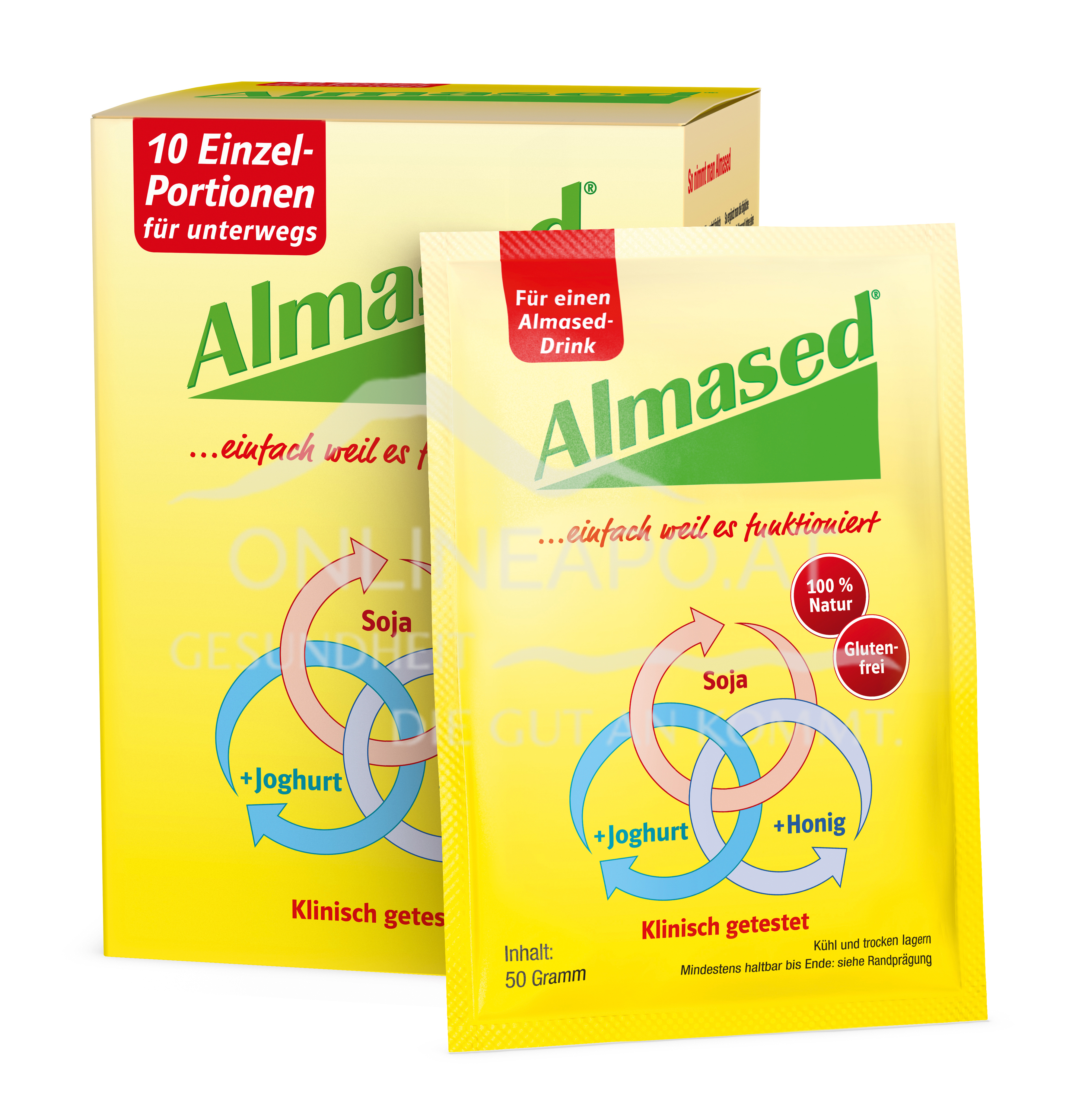 Almased® 10er-Pack 10x50g