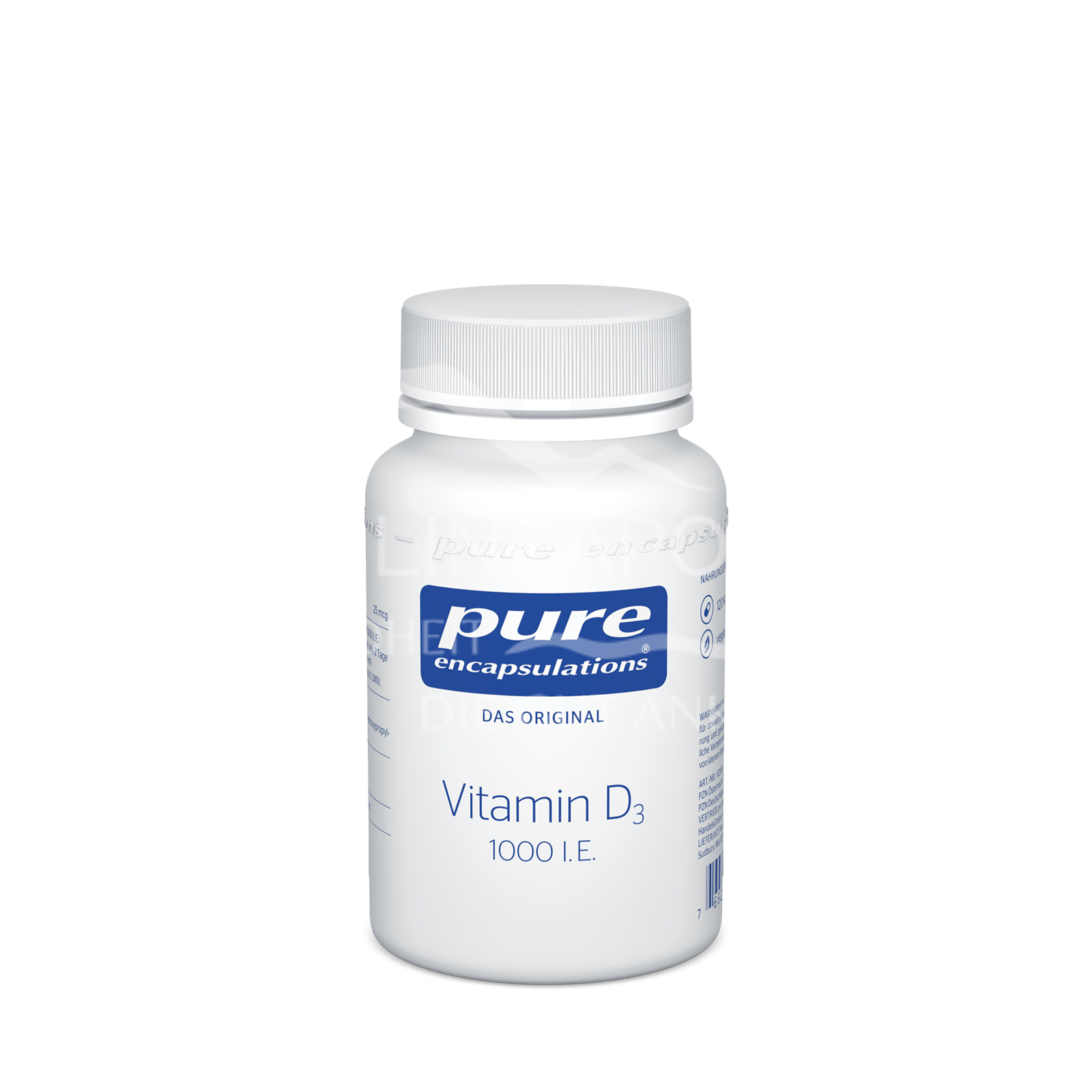 pure encapsulations® Vitamin D3 1000 I. E.