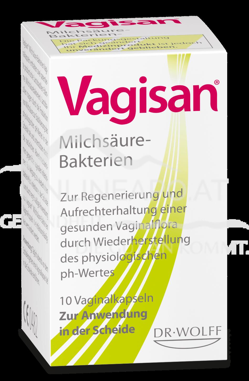Vagisan® Milchsäure-Bakterien Vaginalkapseln