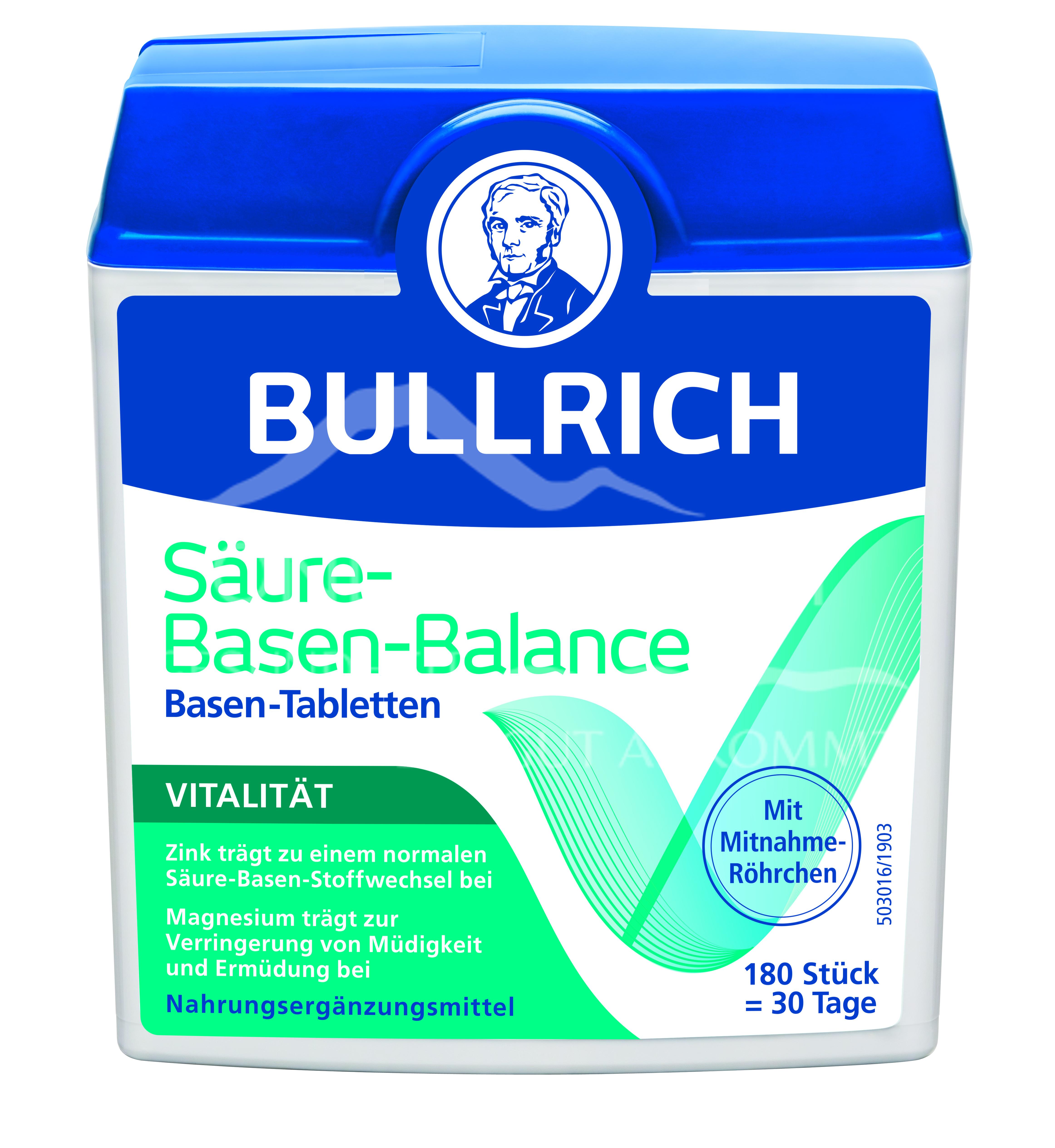 Bullrich Säure–Basen–Balance Basentabletten