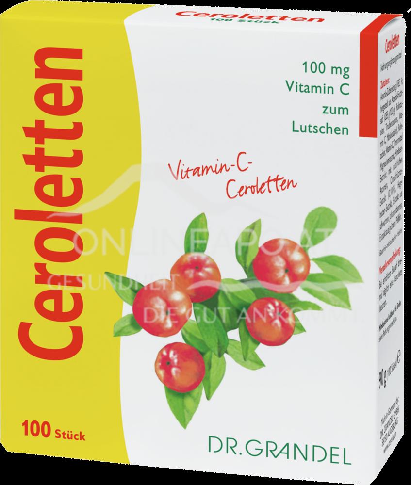 Ceroletten Vitamin C 100 Stück