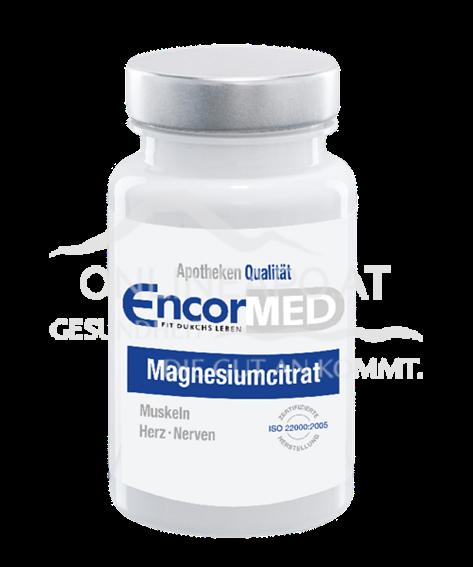 EncorMed Magnesiumcitrat Kapseln