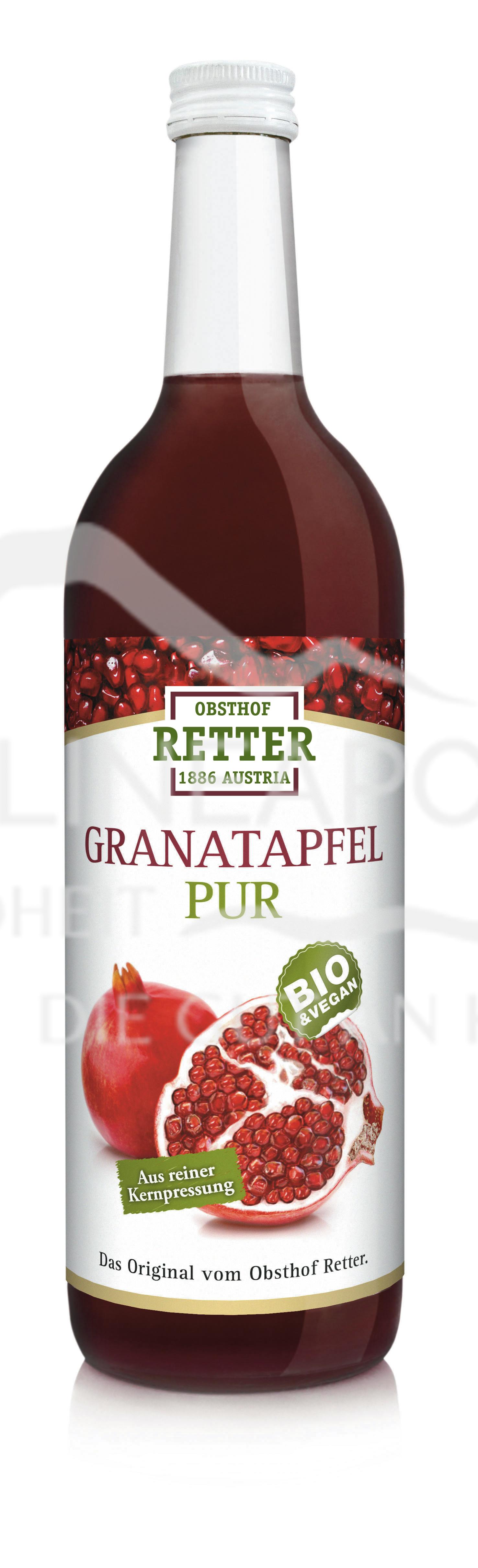 Obsthof Retter BIO Granatapfel Direktsaft