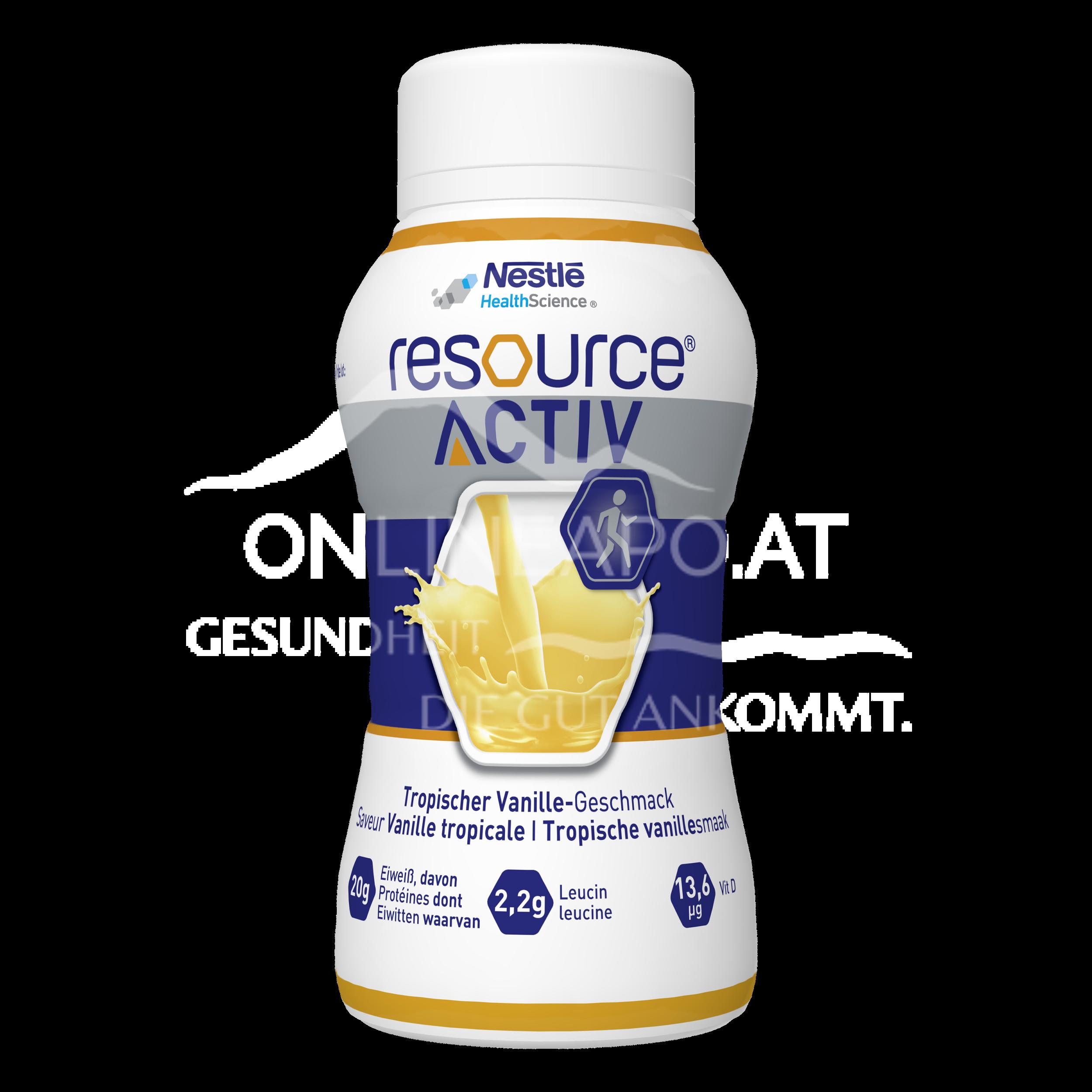 Resource® Activ Vanille