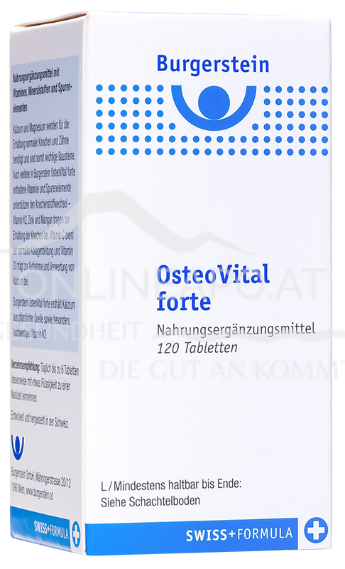 Burgerstein OsteoVital forte