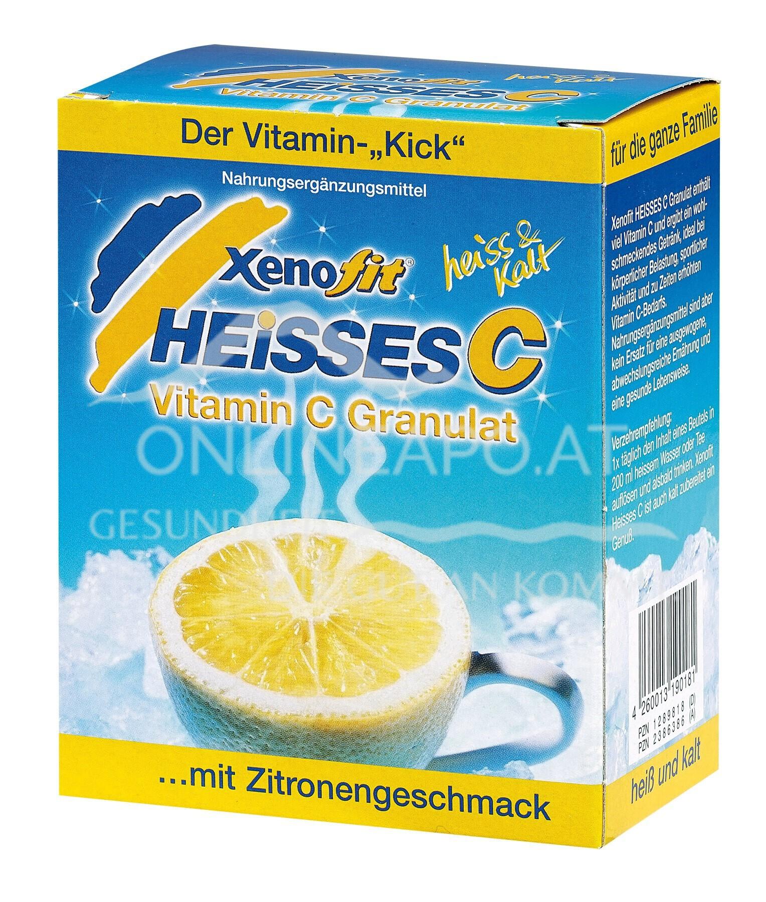 XENOFIT® Heisses C Zitrone - Beutel