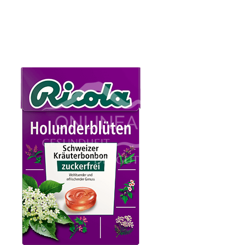 Ricola Holunderblüten in Box zuckerfrei