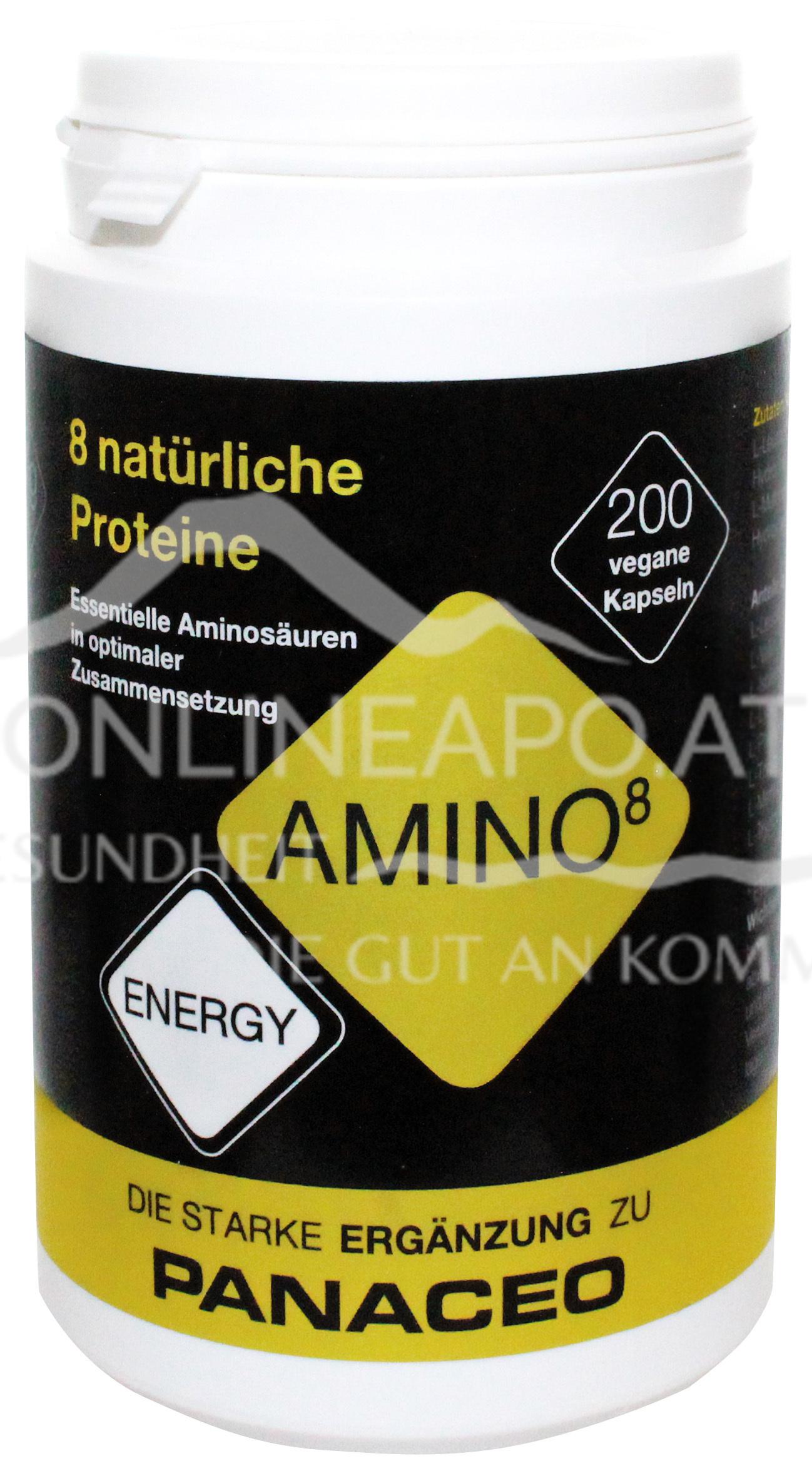 PANACEO ENERGY AMINO8