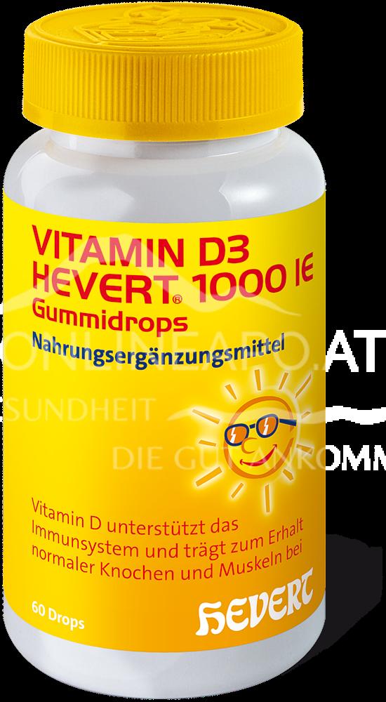 Vitamin D3 Hevert 1000 IE Gummidrops