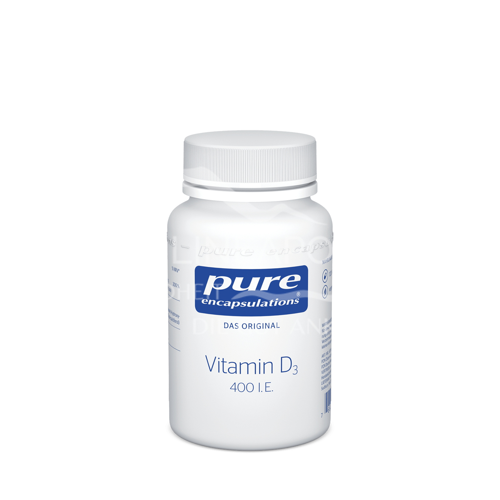 pure encapsulations® Vitamin D3 400 I. E.