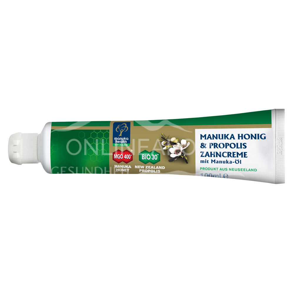 Mānuka Health Zahncreme Honig & Propolis MGO 400+